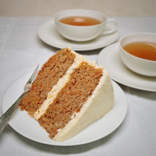 Carrot Cake - Gluten Free, Low Carb, Sugar Free.