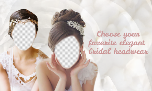 Bridal Hair Headband Montage