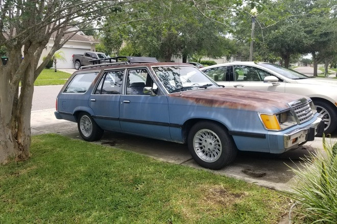 Surf's Up  in 85! Ford Station Wagon Patina Glory Hire FL 33330