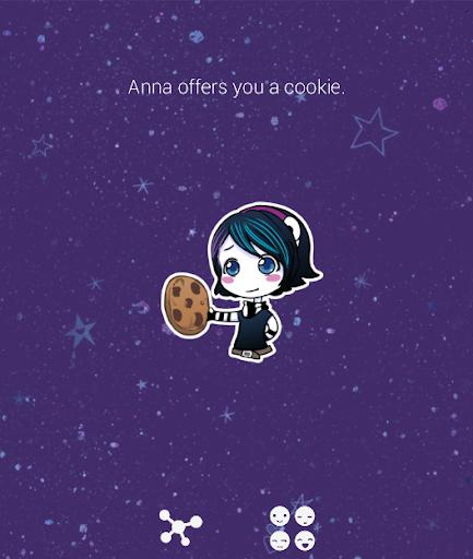 Anna Blue - Chat Stickers screenshot 1