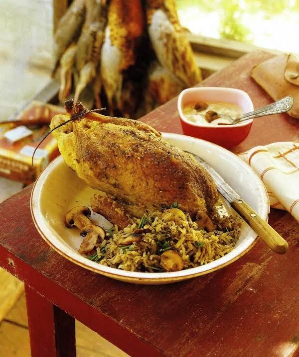 Pheasant In Mushroom Cream Sauce Recipe
