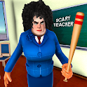 Scary Evil Teacher Games: Neighbor House Escape 3D icon