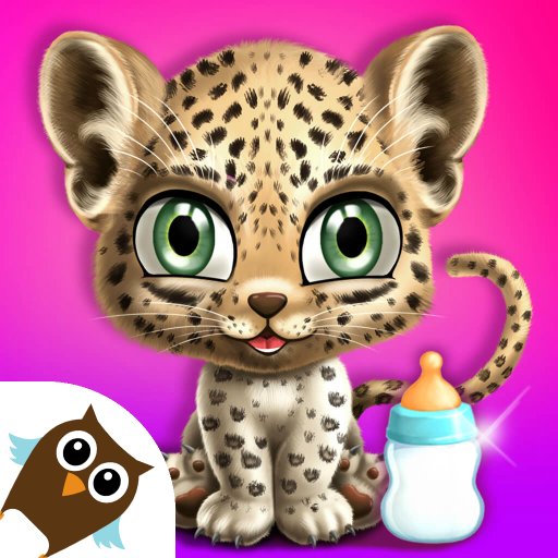 Baby Jungle Animal Hair Salon - Pet Style Makeover