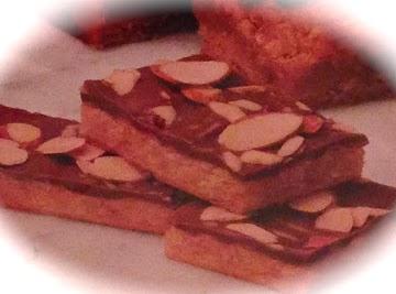 Chocolate Macaroon Crescent Bars Recipe