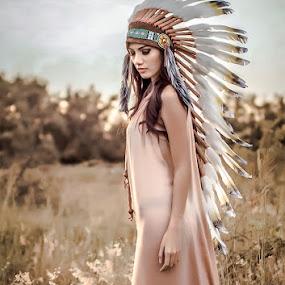 chieftain's daughter by Arojiduhu Halawa - People Fashion ( makassar, south sulawesi )