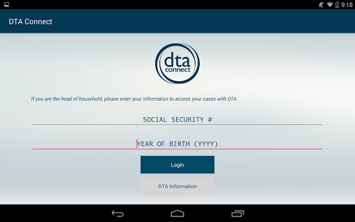 DTA Connect app (apk) free download for Android/PC/Windows screenshot