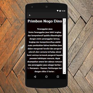 Primbon Nogo Dino Terlengkap - náhled