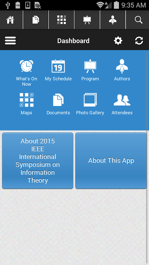 ISIT 2015- screenshot