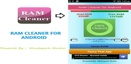 how to clean my android ram
