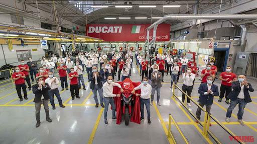Ducati Multistrada V4 đã bắt đầu được sản xuất