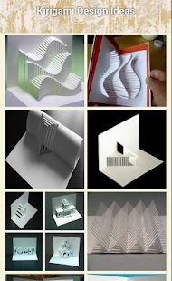 Kirigami Nápady design - náhled