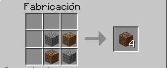 Crafteo Coarse Dirt