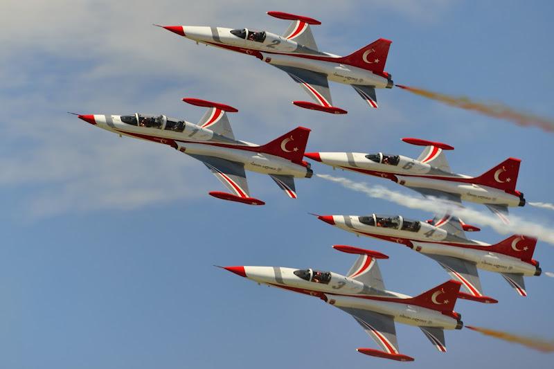 Squadra acrobatica Turca di Matteo Faliero