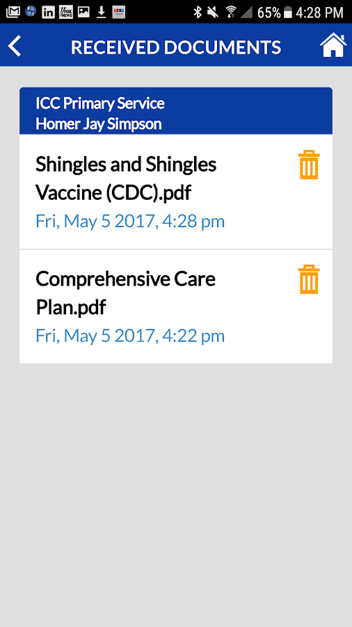 Pocket HealthNet- screenshot