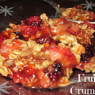 Fruit Crumble.