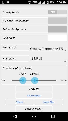 GRAVITY LAUNCHER VS 3.2 screenshots 3