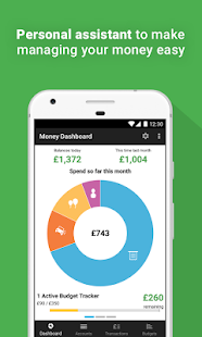 Money Dashboard Budget Planner- screenshot thumbnail