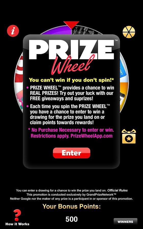 free spin wheel app