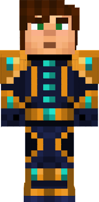 Golden Armored Jesse, this armor can be gotten if you choose Luna instead of Nurm [Made By RetiringToast76] All Other Versions (If There Is) Probably Copied