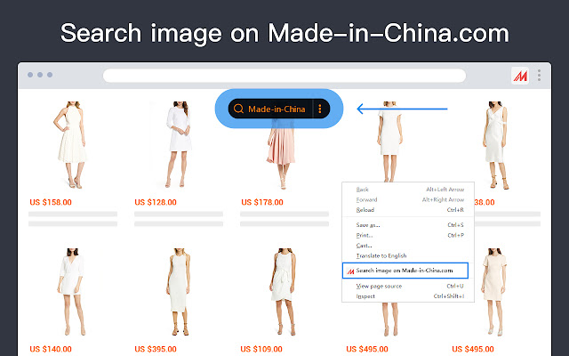 Search by image for Made in China
