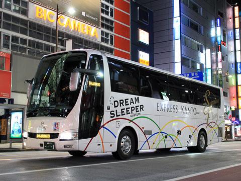 関東バス「ドリームスリーパー東京大阪号」 ・・・1