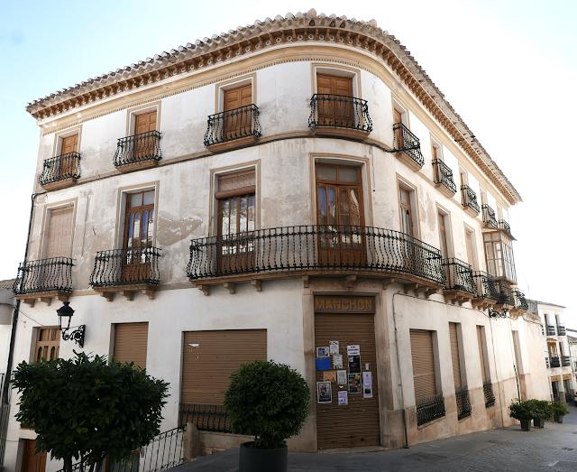 Casa Manchón en Vélez Rubio (Foto Encarni Navarro).