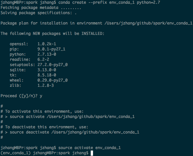 Using VirtualEnv with PySpark - Hortonworks