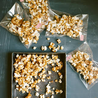 Smoky Candied Popcorn.