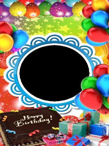 Birthday Card Photo Editor