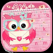 Love owl Keyboard Theme