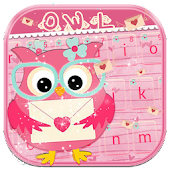 Love owl Keyboard Theme