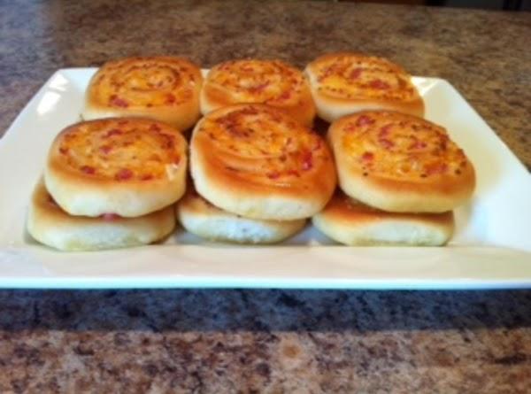 Grammy's Ham And Cheese Roll-ups Recipe