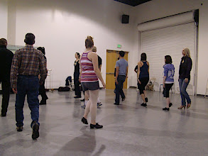 Photo: Photo by: Lisa Danz / Rehearsal at Triple Threat