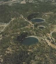 Photo: Torcas de agua. Cañada del Hoyo (Cuenca)