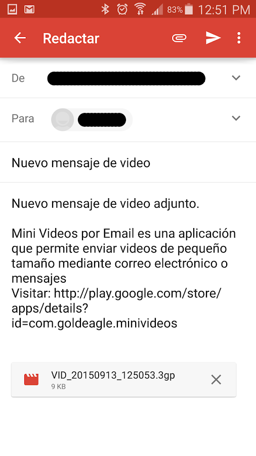 mini videos por email cuba aplicaciones de android en google play. Black Bedroom Furniture Sets. Home Design Ideas