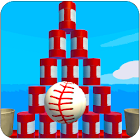 Knock Down Balls : hit cans icon