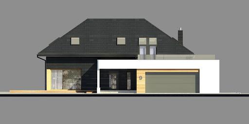 New House 9 - Elewacja przednia