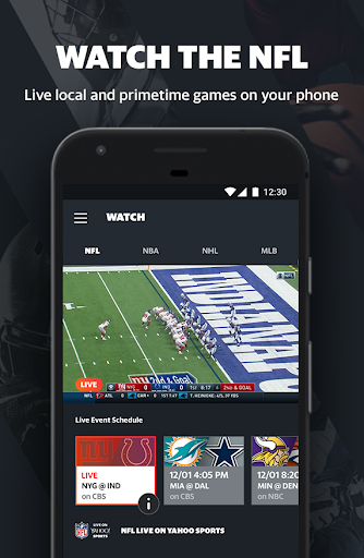Yahoo Sports - Live NFL games, scores, & news 8.7.1 screenshots 2