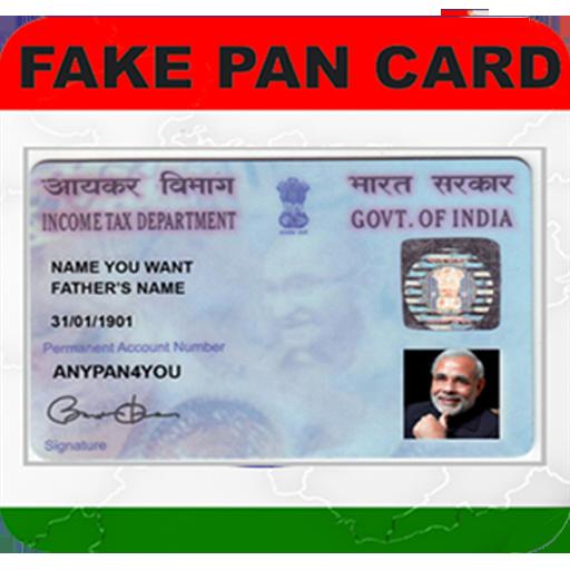 Fake PAN Card Maker Prank