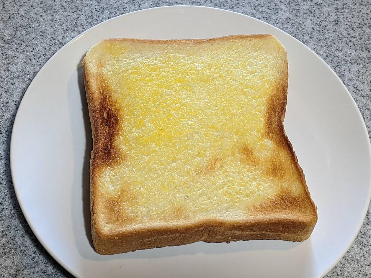 バタートーストの画像