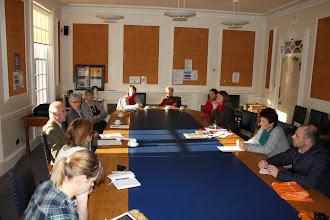 Photo: Meeting in UK
