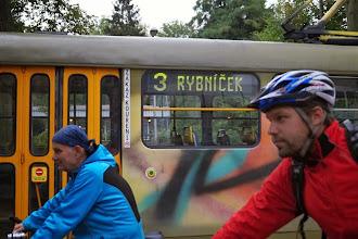 Photo: Cyklisté a MHD - přeprava kol je v prostředcích liberecké MHD zdarma
