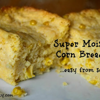 Super Moist Corn Bread Recipe