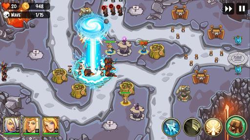 Tower Defense Crush: Empire Warriors TD  screenshots 2
