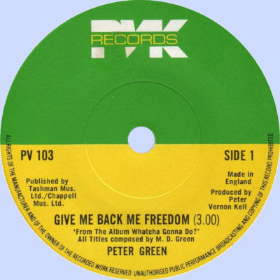 Give Me Back Me Freedom / Lost My Love