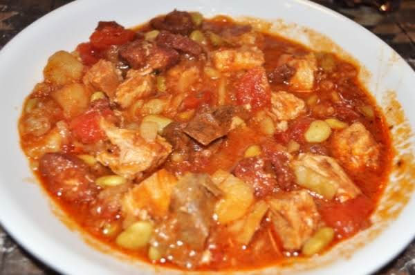 Portuguese-style Pork And Chorizo Stew In Electric Pressure Cooker