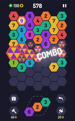 UP 9 - Hexa Puzzle! Merge Numbers to get 9 apkdebit screenshots 3