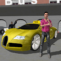 Downtown City Taxi Driver 3D icon