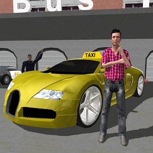 Downtown City Taxi Driver 3D for PC and MAC