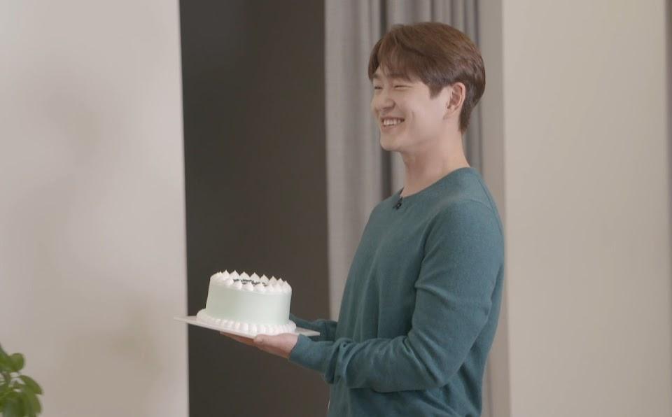 onew cake for minho